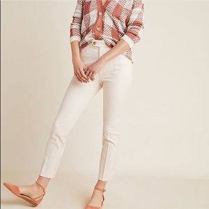 Anthropologie The Essential Slim Trousers Size 4